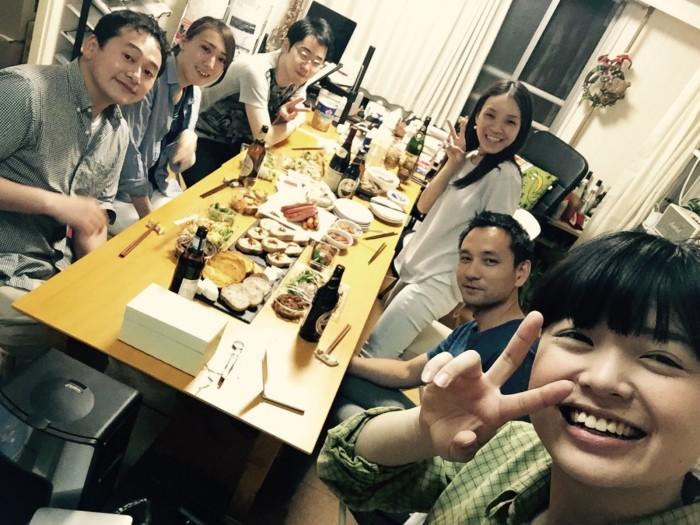 宮武さん卒業パーティを開きました