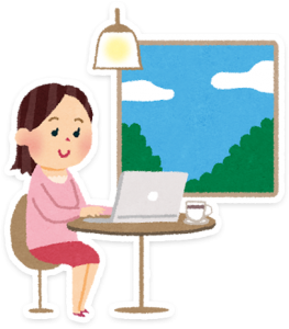 女性WEBデザイナー