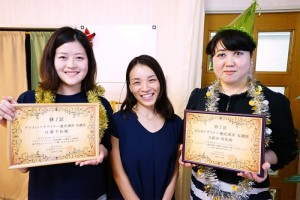 卒業式:WEBデザイナー養成講座
